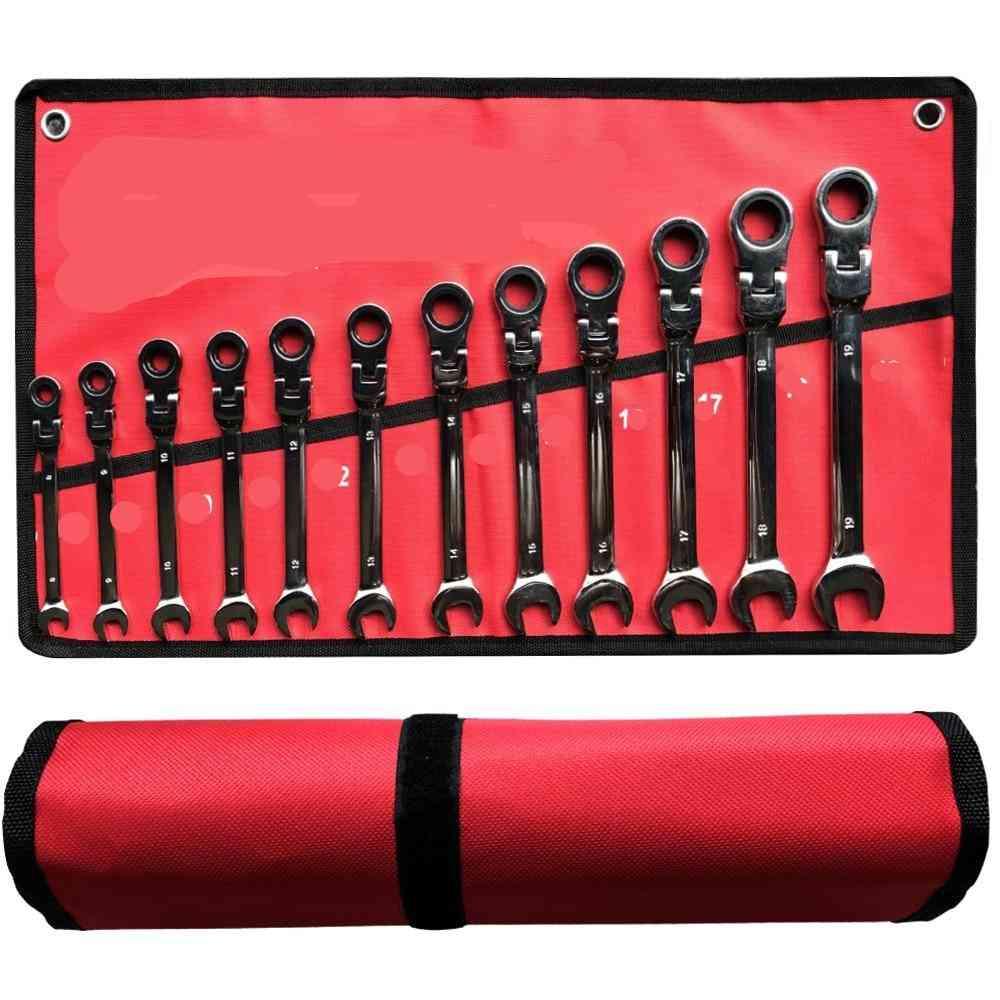Key Ratchet Wrench Spanner Socket Tool Set Ratchet Car Wrench Set Hand Tools