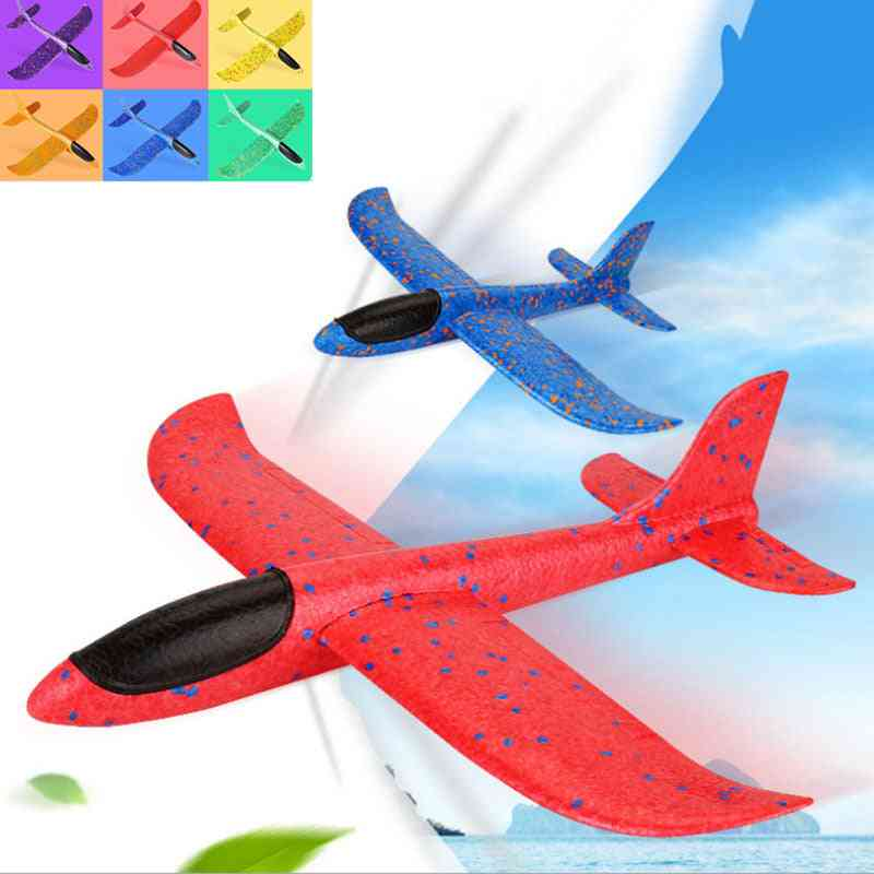 Large Airplane- Foam Glider, Hand Throw Fly Aircraft, Models Games Toy