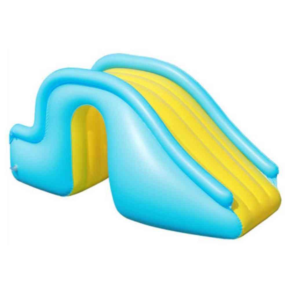 Inflatable Waterslide. Wider Steps. Joyful Swimming Pool Supplies