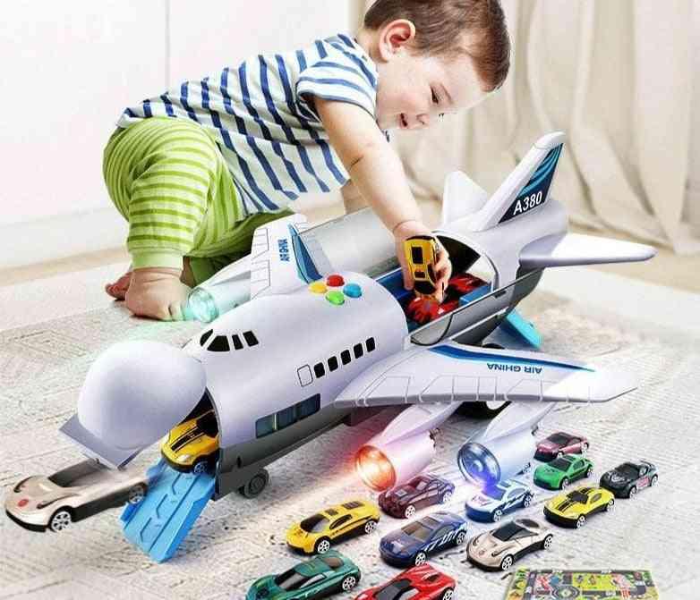 Music Lights Simulation Track, Inertia's Toy Aircraft Passenger Plane