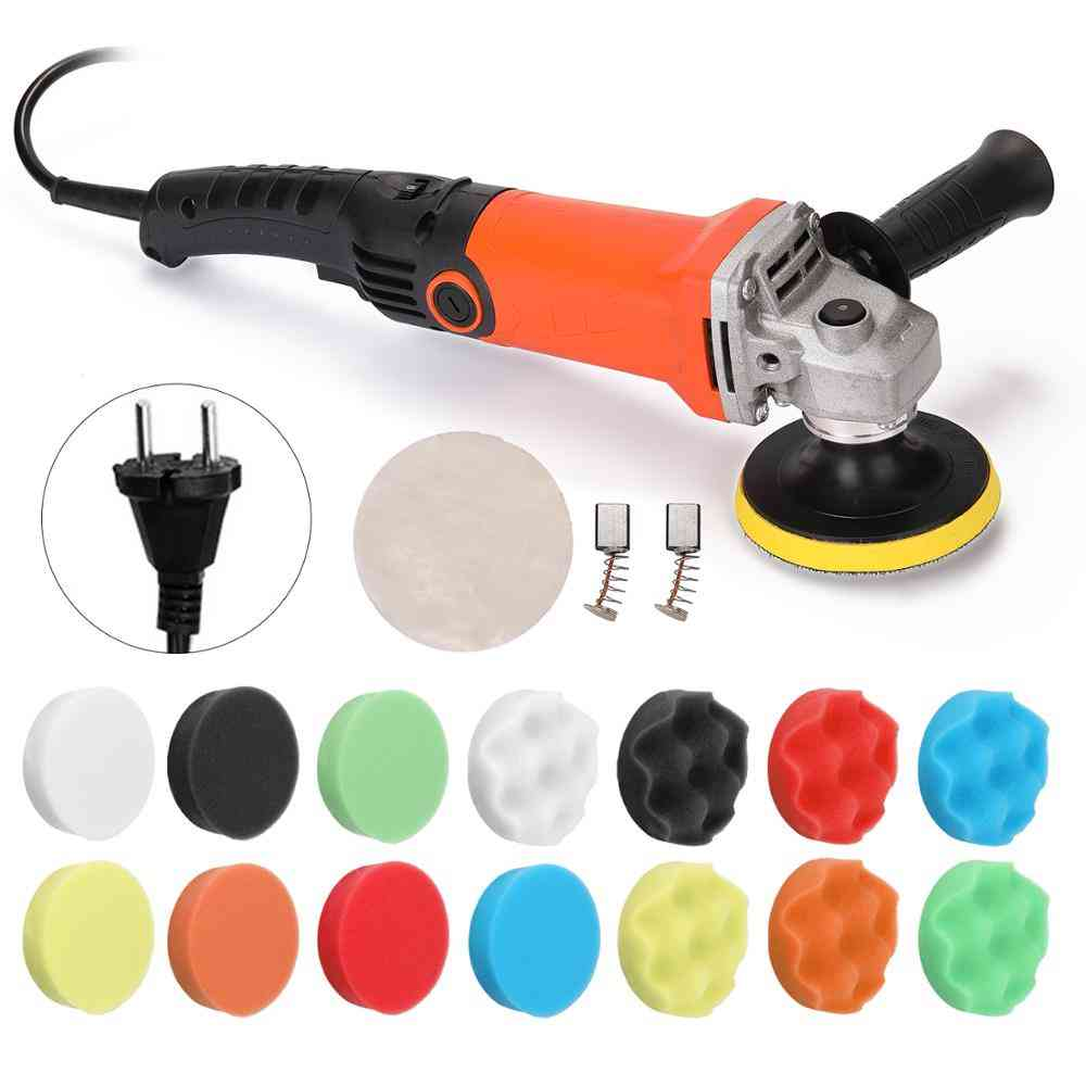 Adjustable Electric Polisher / Waxing Machine Automobile Furniture Polishing Tool Car Paint Care Tool