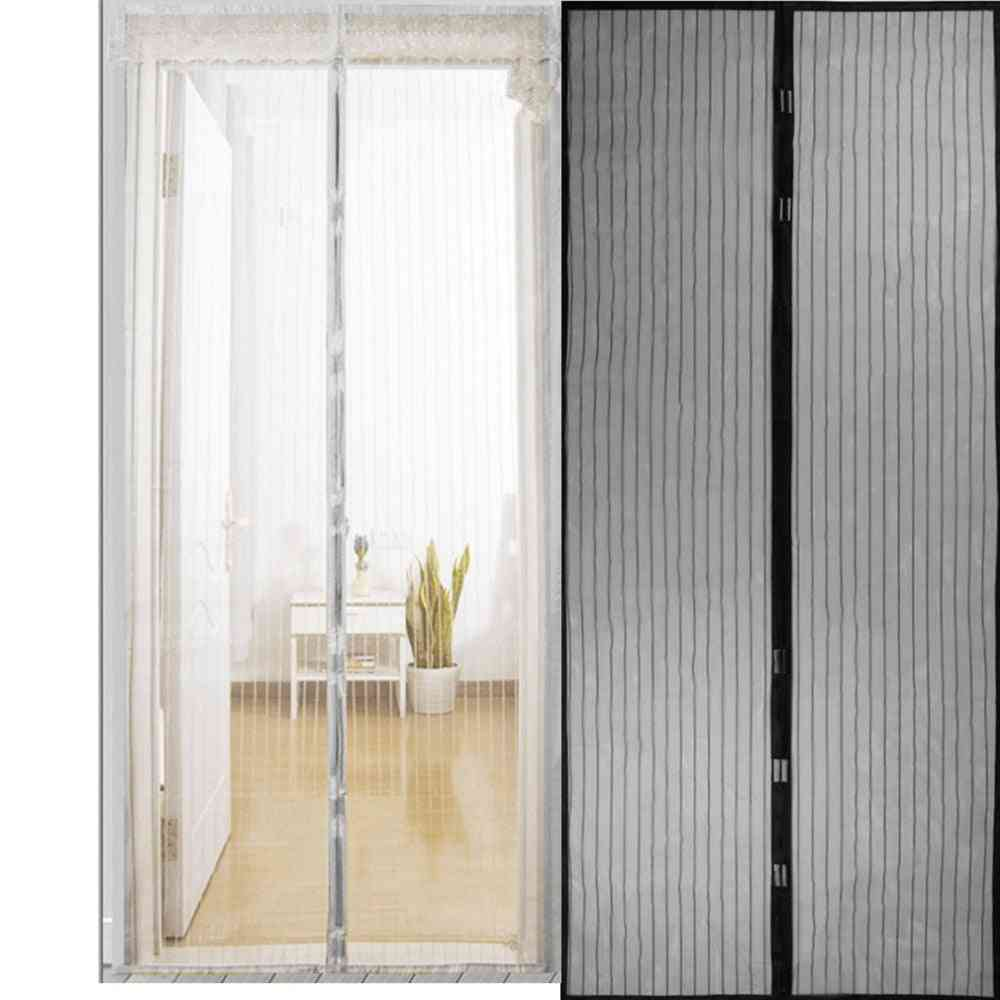 Summer Anti Mosquito Insect Fly Bug Curtains Net, Closing Door Screen Kitchen