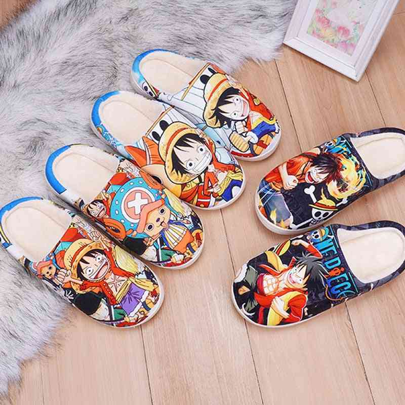 Winter House Slippers One Piece Cosplay Anime Shoe