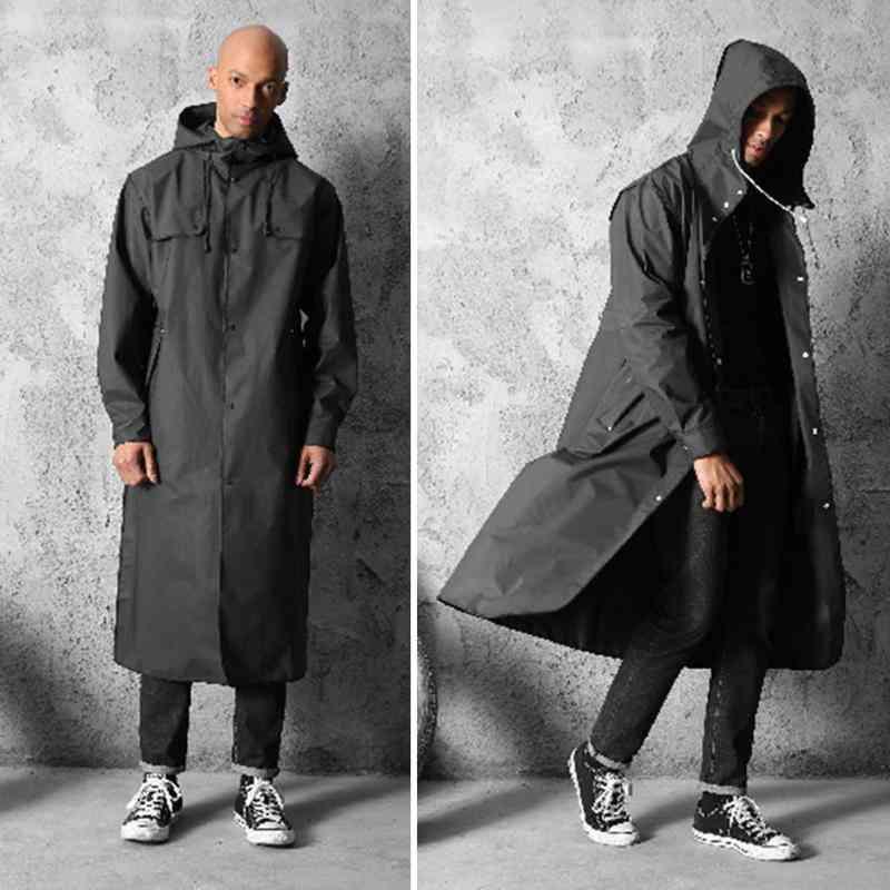 Thicken Eva Adults Waterproof Raincoat For Men Women