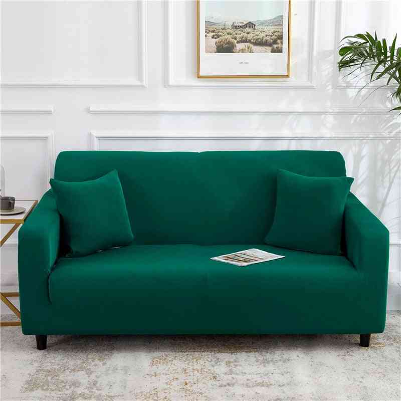Polyester Modern Elastic Corner Couch Cover