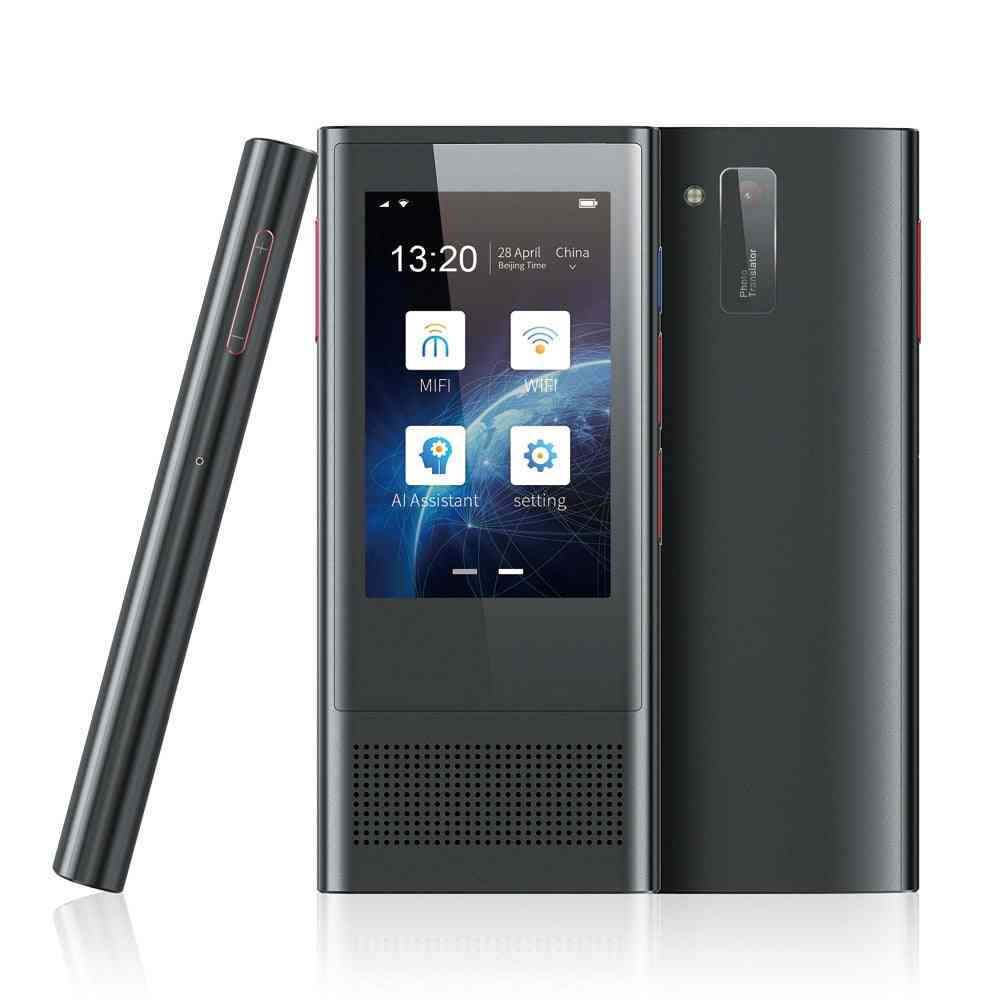 Bf301(w1 3.0) 2.8 Inch Screen Smart Voice Translator For Business Travel 1gb+8gb Support  (black)