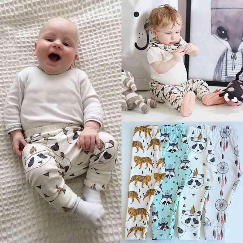 Baby Animal Pattern Loose Casual Leggings Harem Trousers