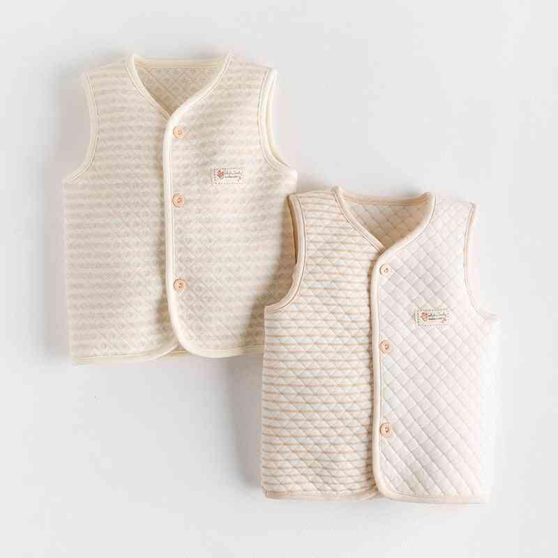 Children's Cotton Vest Color Cotton And Vest