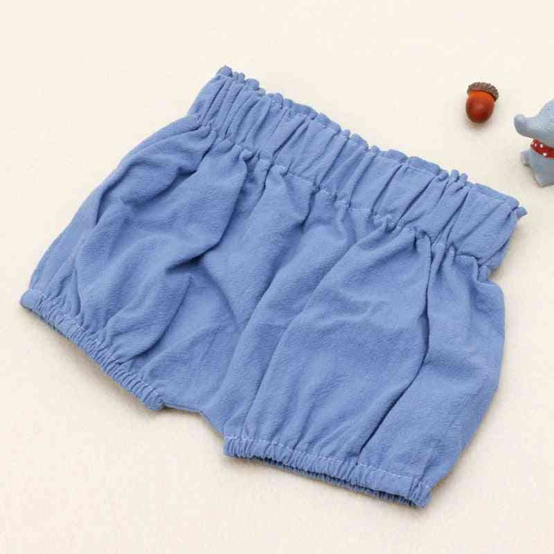 Baby Boy Cotton Shorts Ruffle Bloomers Summer Panties