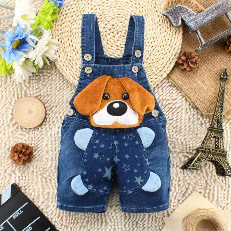 Summer Cotton Baby Shorts Pant Jeans Overalls Trousers