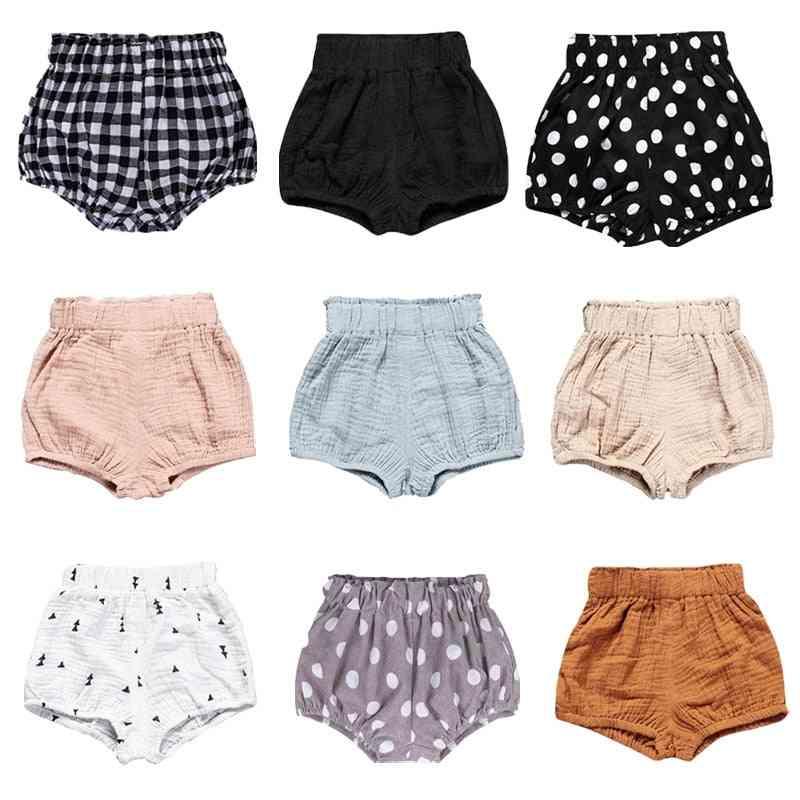 Newborn Baby Boy Girl Cotton Bottom Bloomer Briefs Diaper Cover Panties