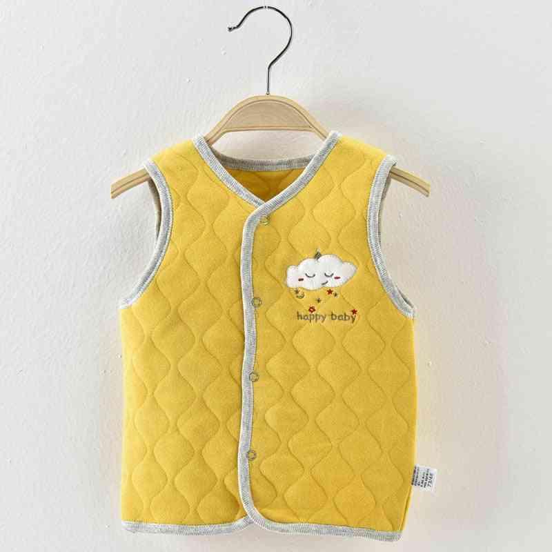 Baby Winter Warm Vest Cotton Newborn Fall Clothes