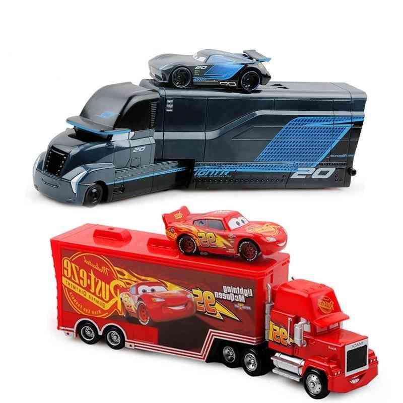 Disney Pixar Lightning Mcqueen/jackson Storm Car For