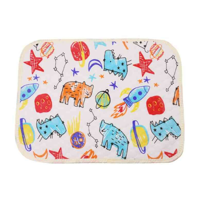 Baby Changing Mat For Newborns Car Thin Changing Table Waterproof Diapers For Reusable Diapers