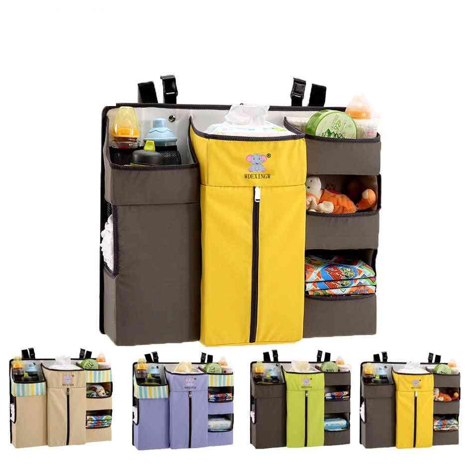 Multi-function, Crib Hanging, Storage  Bedside Diaper Bag