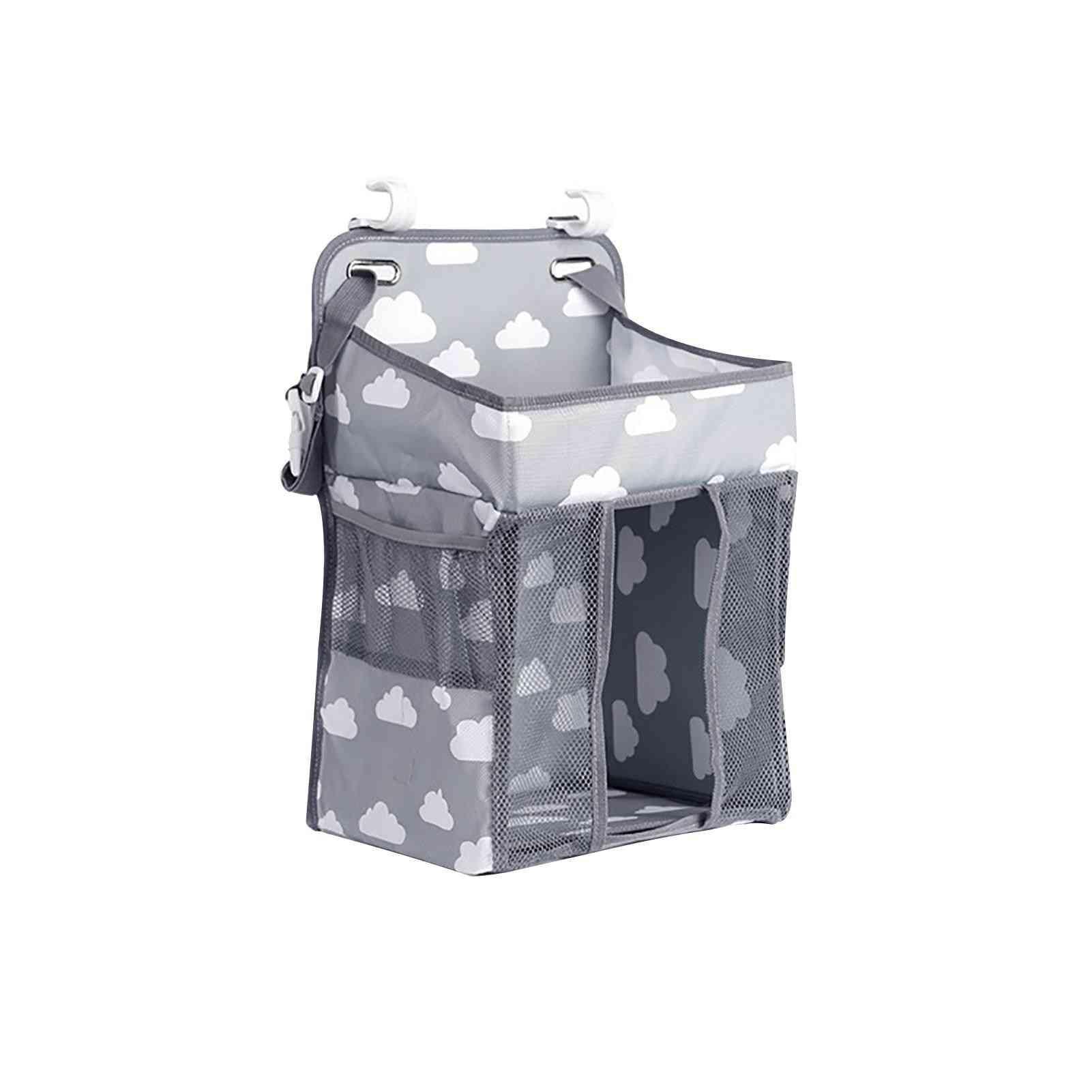 Hanging Storage Bag With Large Capacity Bedside Organizer