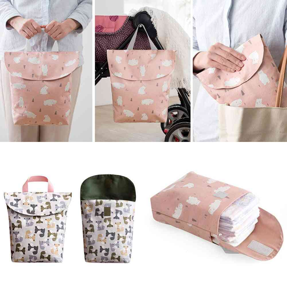 Diapering Toilet Training Packages, Mini, Waterproof, Wet, Dry Bag For Baby, Infant Cloth Diaper, Nappy Pouch Reusable
