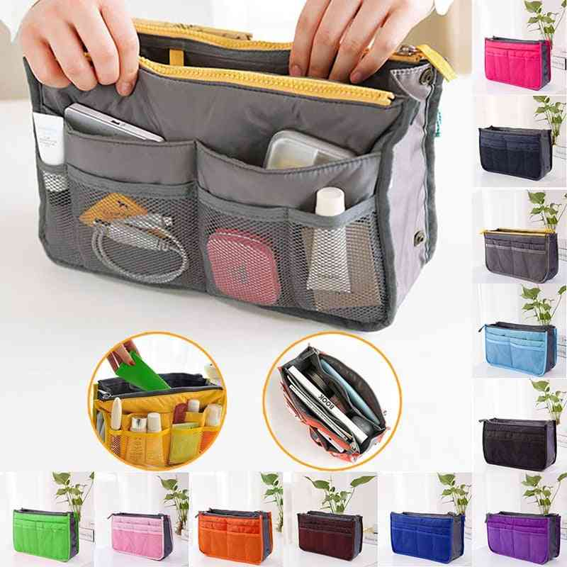 Handbag Mother Storage Bag Nurse Baby Care Supplies Makeup Large Lined Organizer