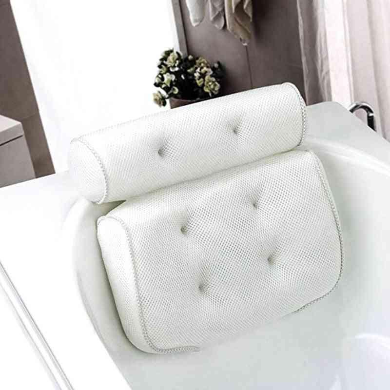 Bath Pillow Cushioned (white)