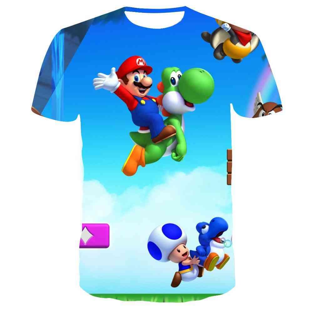 Summer New Harajuku Style T-shirt