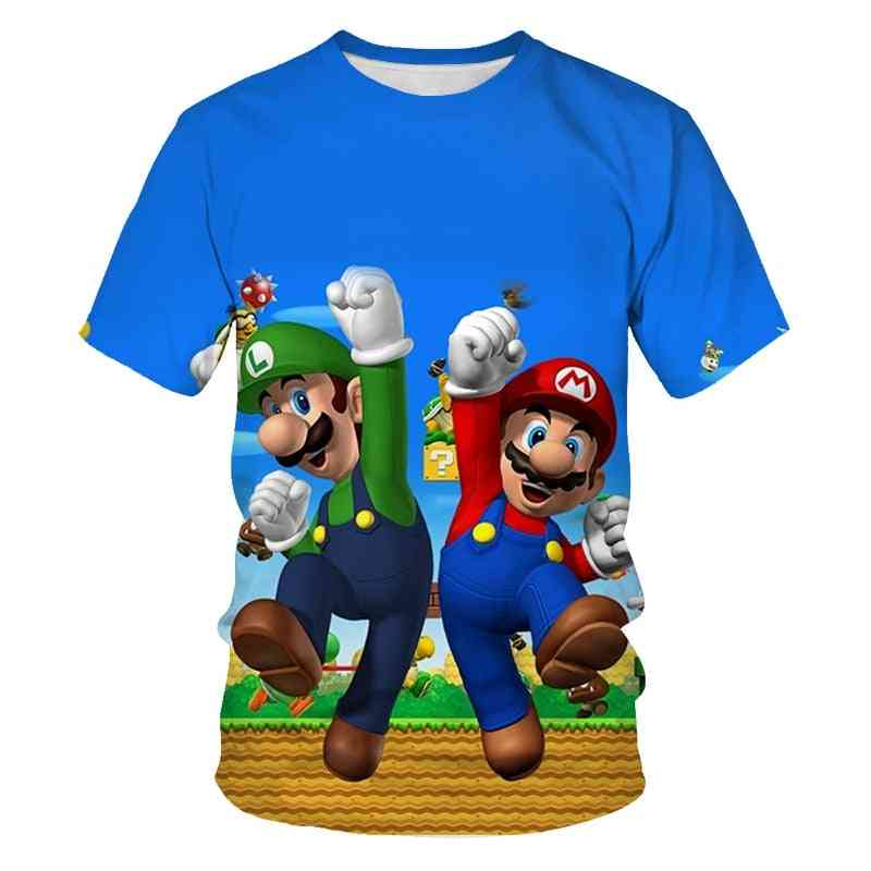 3d T-shirt Hip Hop Tshirt Streetwear