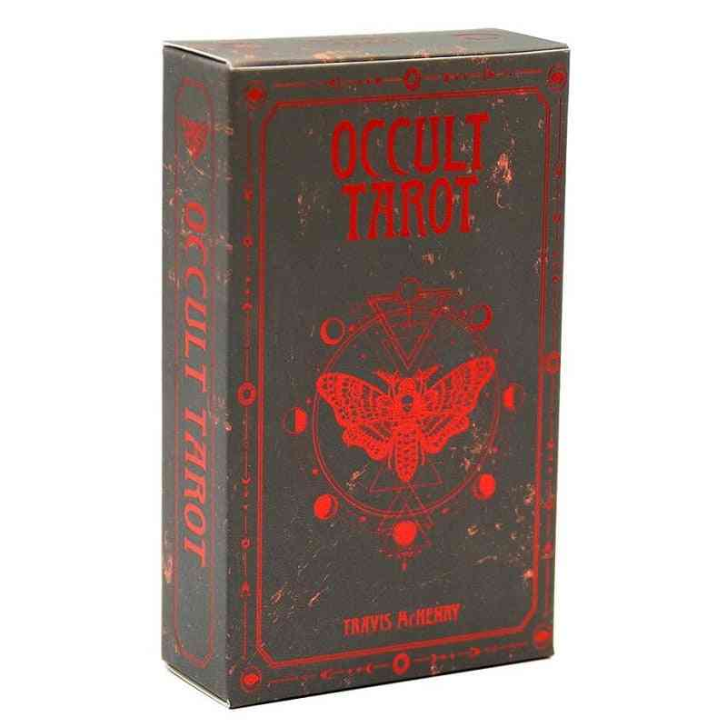 Occult Tarot Desk Cards, English Version Oracle Divination Fate Game