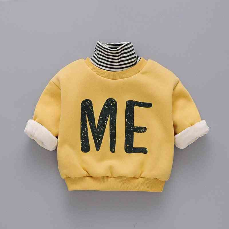 Winter Clothes Plus Velvet Thickening Turtleneck Sweaters For/girls