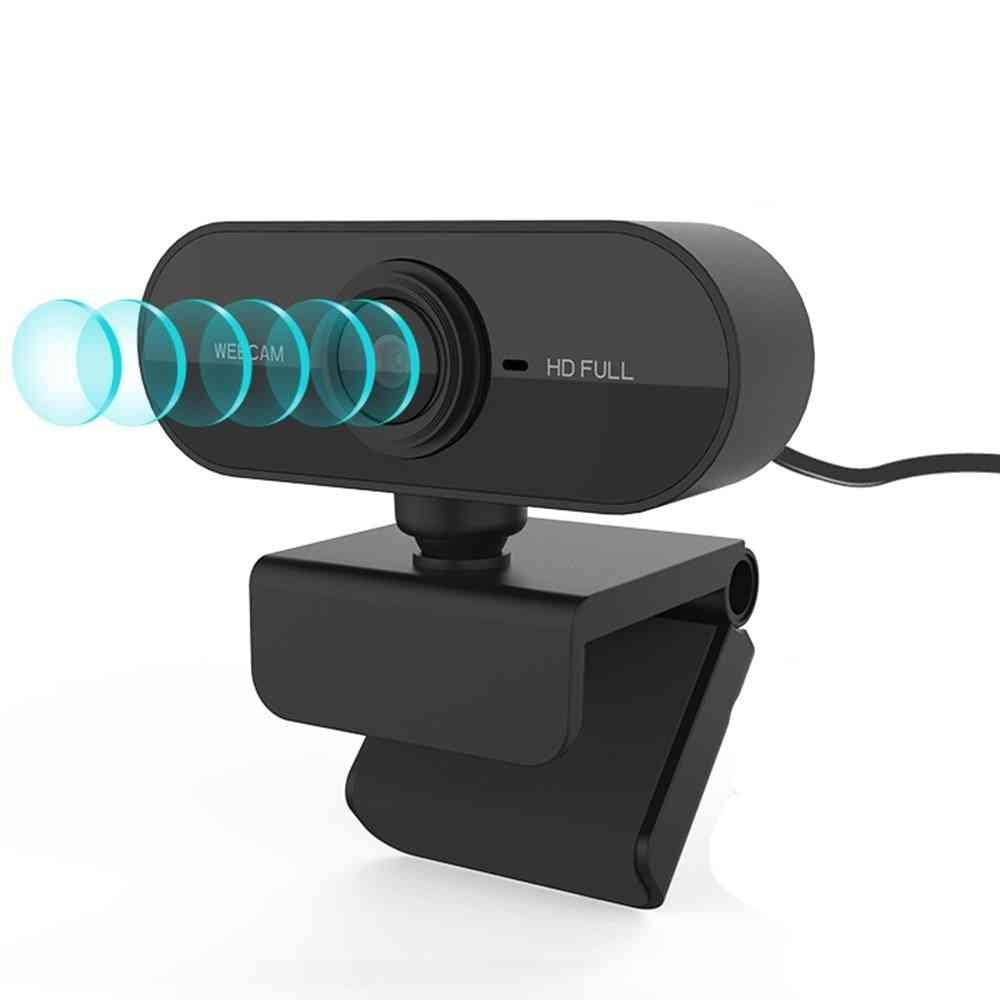 1080p Full Hd Web Camera With Microphone Usb Plug