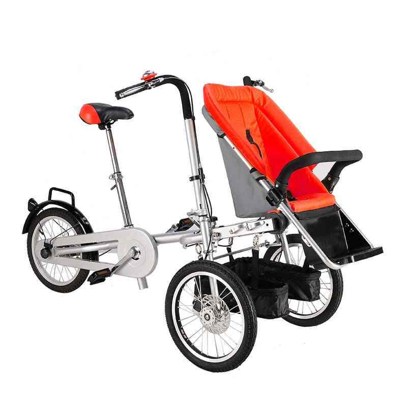 Baby Bicycle Trailer Buggy For Travel & Shopping