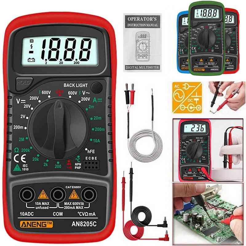 Digital Multimeter  Ac/ Dc Ammeter Tester
