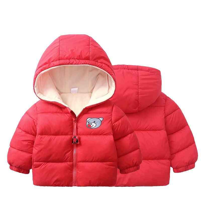 Baby Coat Hooded Warm Outwear Jacket