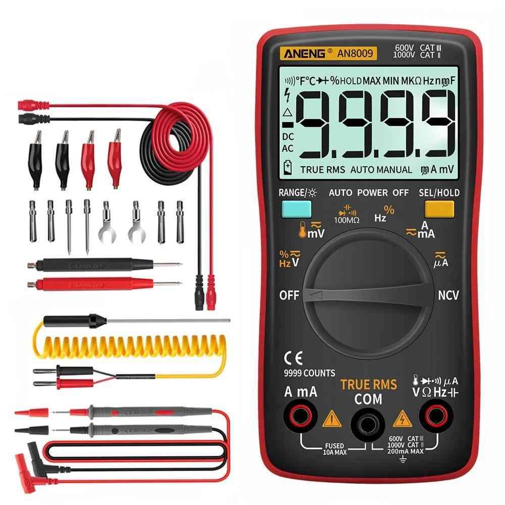 Digital Multimeter Transistor Testers Capacitor