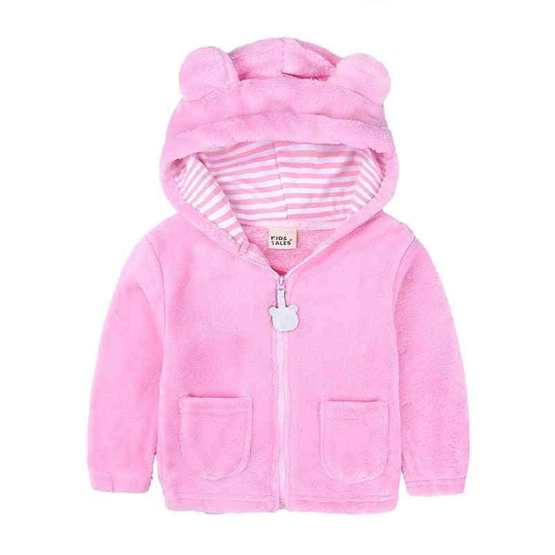 Baby Outerwear Coat Cap Cotton Jacket Hooded -  Cute Winter Coat