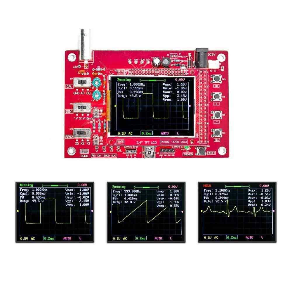 Tft Digital Oscilloscope Analog Bandwidth
