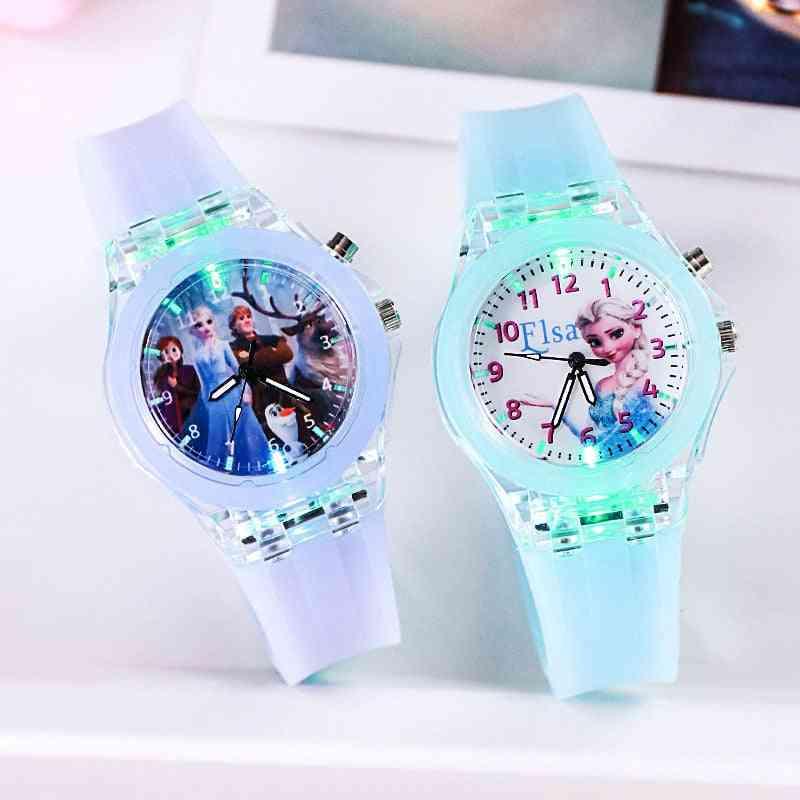 Frozen Princess Pattern Watch