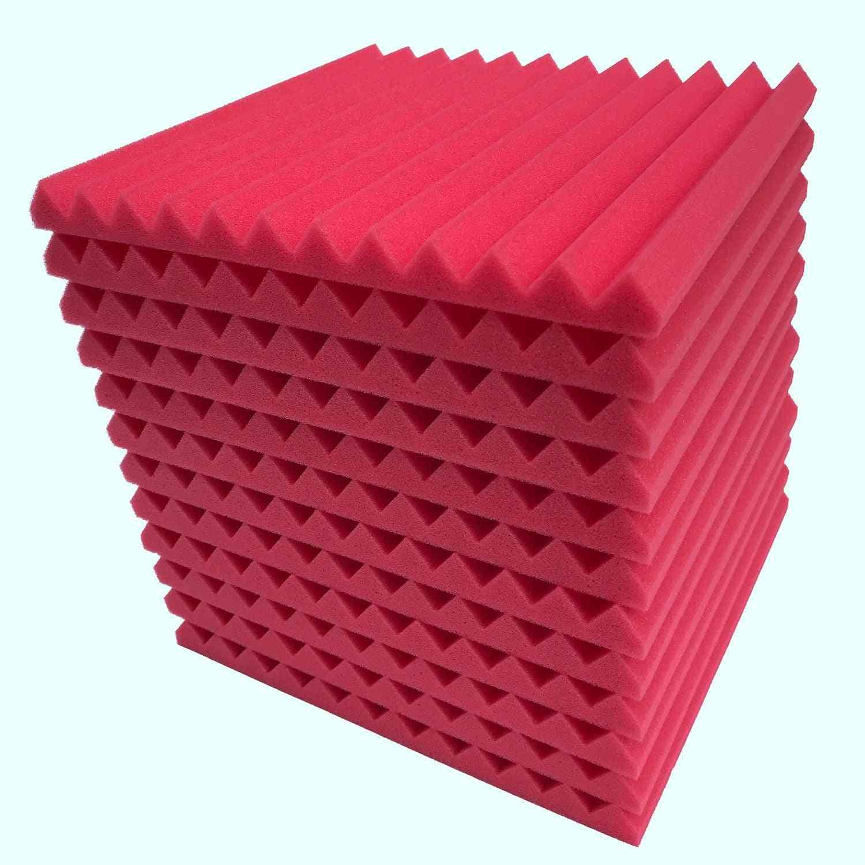 12pcs Acoustic Panels Soundproofing Foam