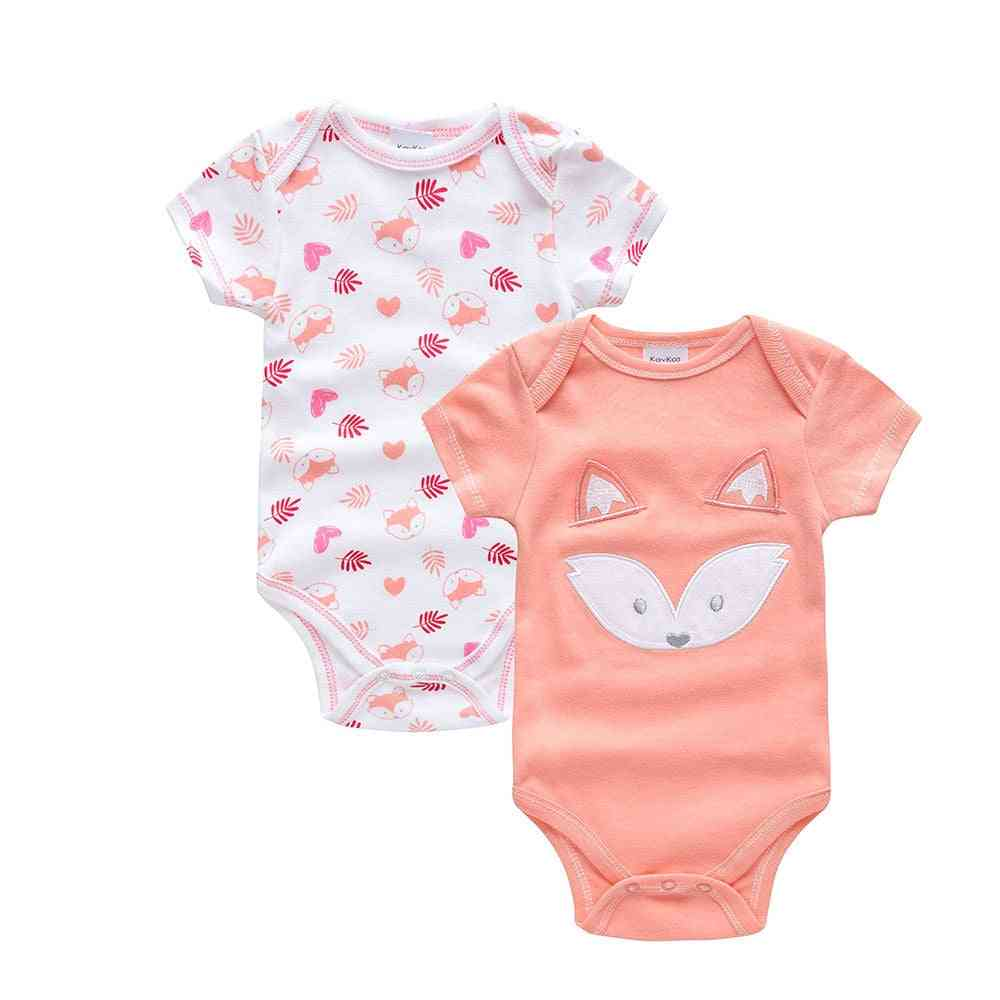Saileroad Cute Fox Pajamas For Baby Onesies Newborn Infant Cotton Clothes