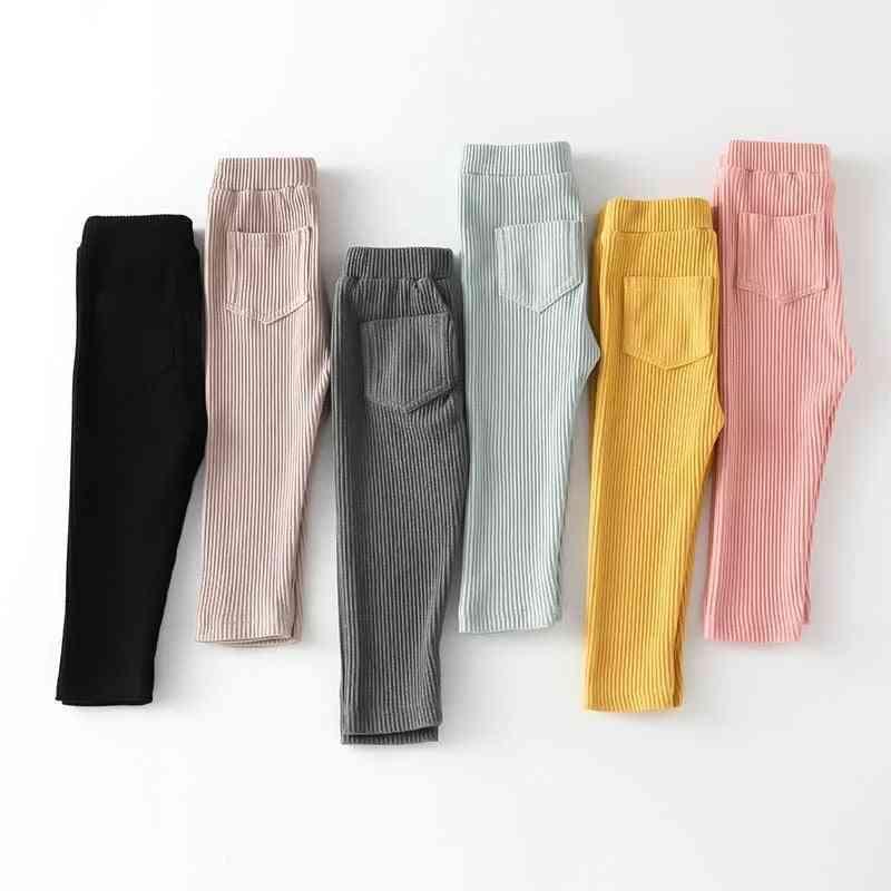 Baby Leggings Cotton Big Pp High Waist Long Trousers Pants