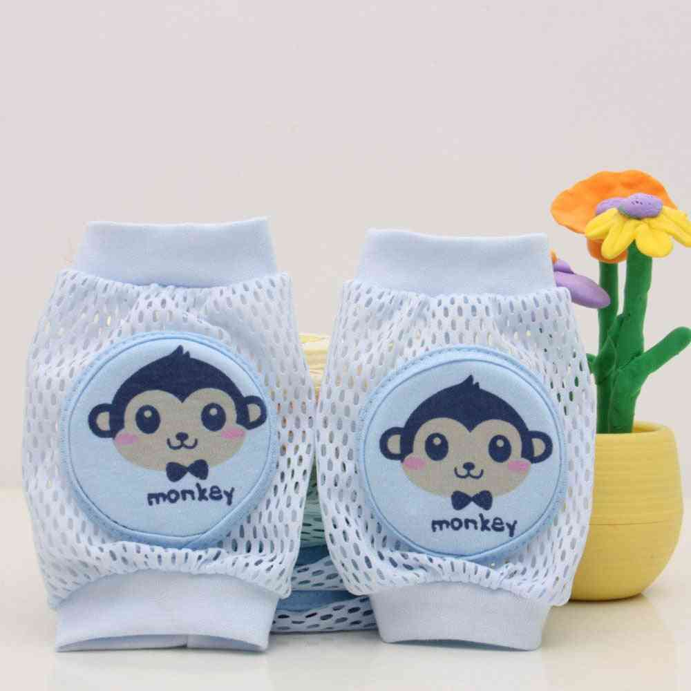 Kids Girl Boy Crawling Elbow Toddlers Knee Pads Protector Safety Mesh Knee Pad