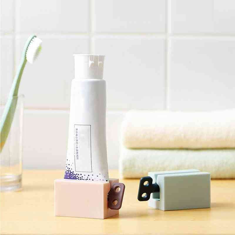 Home Plastic Toothpaste Tube, Squeezer Dispenser, Rolling Holder, Tooth Cleaning Accessories