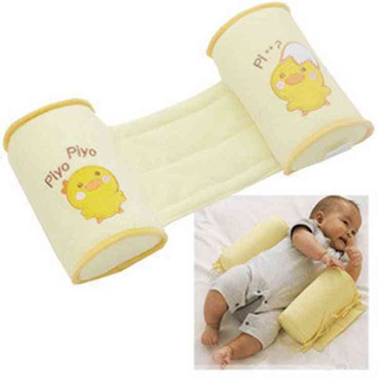 Baby Crib Bumper Nursing Memory Foam Cute Cartoon Anti-roll Sleeper Pillow
