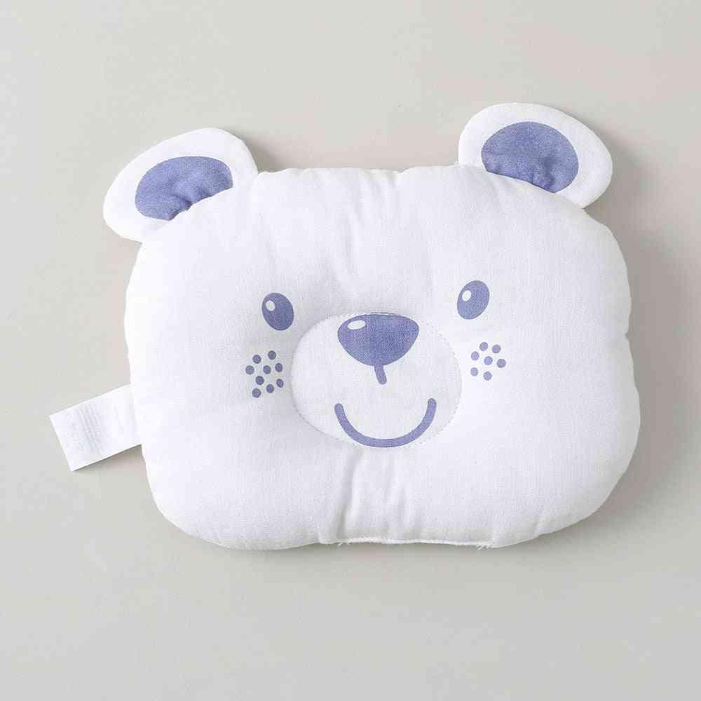 Gauze Printed Bear Dual-purpose Pillow Toddler Sleep Cushion