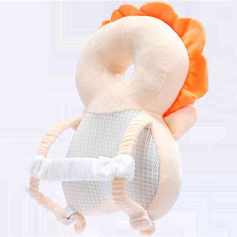 Cute Baby Head Protection Pad Headrest Back Protector Soft Safety Cushion