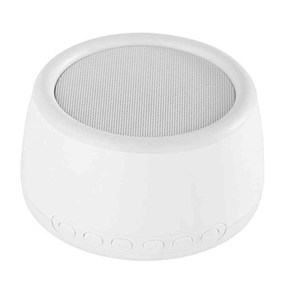 Noise Machine Usb Rechargeable Shutdown Sleep For Sleeping And Relaxation For Baby