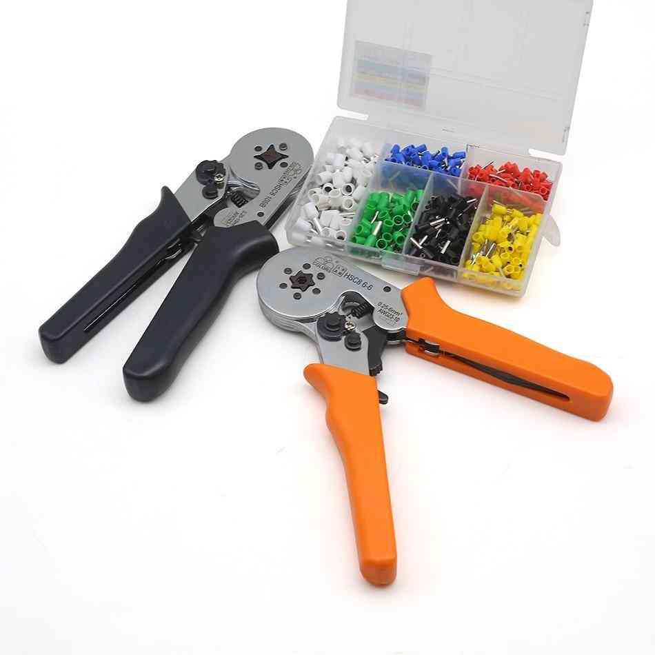 Quadrilateral Tube Bootlace Terminal Crimping Pliers