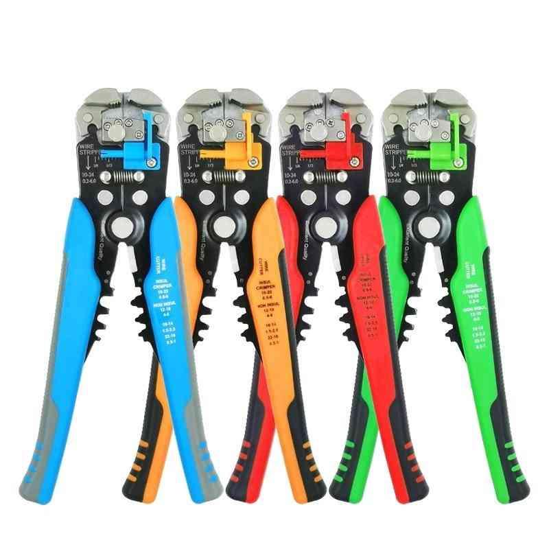 Multi Wire Stripper Pliers Cutter Clamp