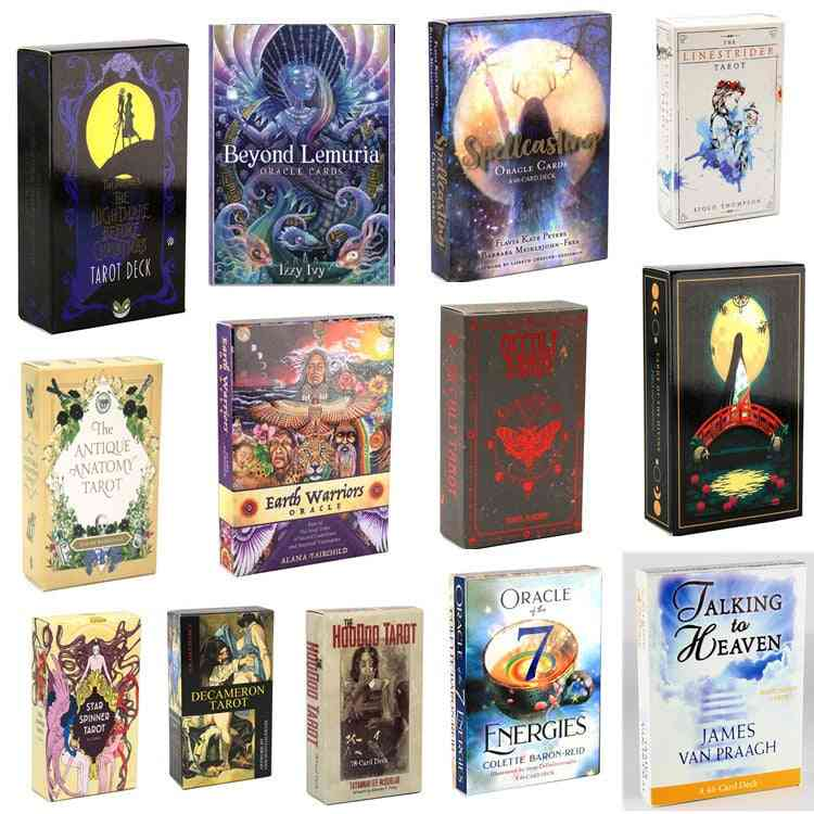 Earth Warriors Tarot Deck Oracles E-guidebook Game Linestrider Toy
