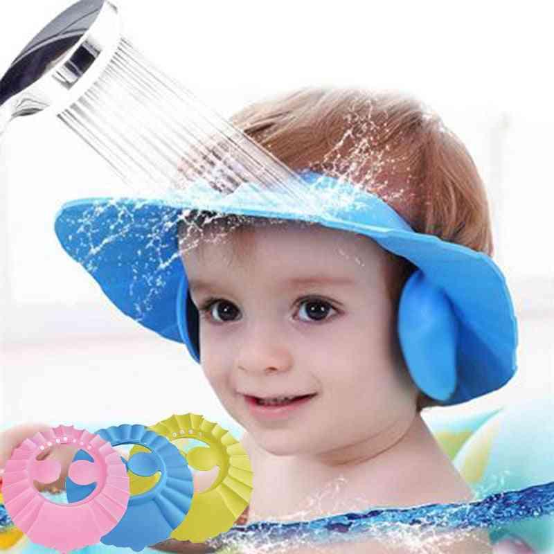 Baby Shower Caps Shampoo Cap Wash Hair