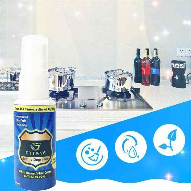 Magic Degreaser Cleaner Spray, Bathroom Home Dilute Dirt & Oil, All-purpose Kitchen Tools, Rust Remover