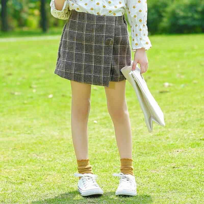 Fashion Kids Shorts Under Skirt